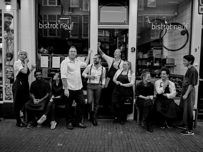 Bistrot Neuf Amsterdam Rokerij Smeding Gerookte Vis Zalm