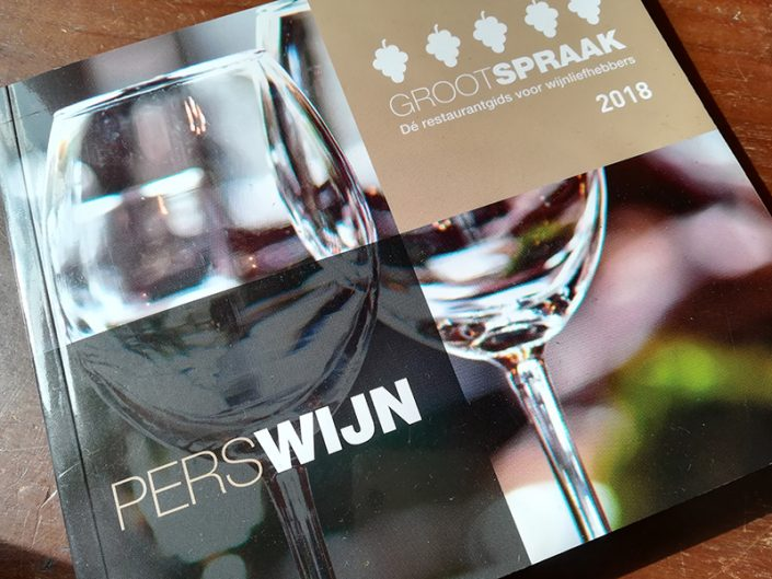 GROOTSPRAAK restaurant guide for wine lovers.