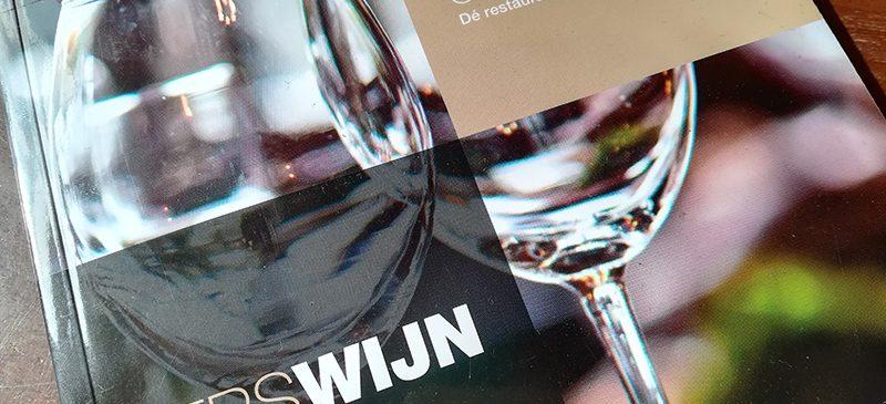 Grootspraak Bistrot Neuf Wijnkaart